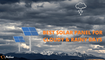 best solar panels for cloudy days